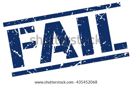 fail stamp.stamp.sign.fail. - stock vector
