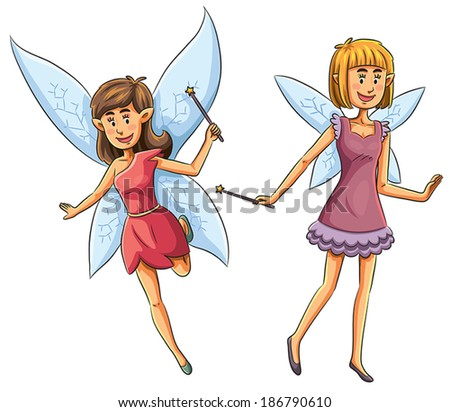 Fairies  - stock vector