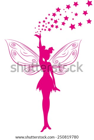 fairy - stock vector