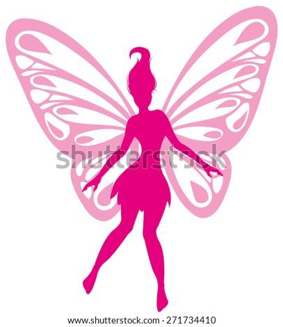 fairy - stock vector