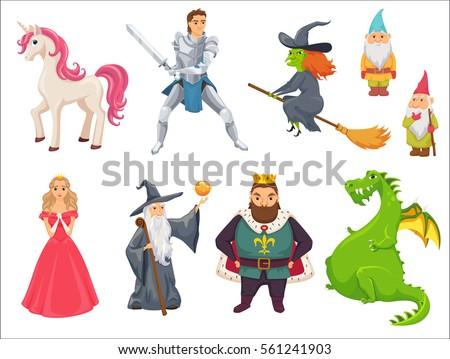 Dragon, Knight & Princess