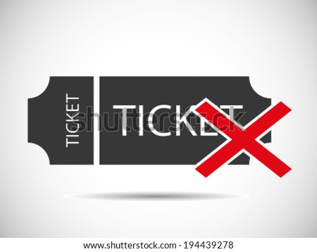 Fake Tickets - stock vector