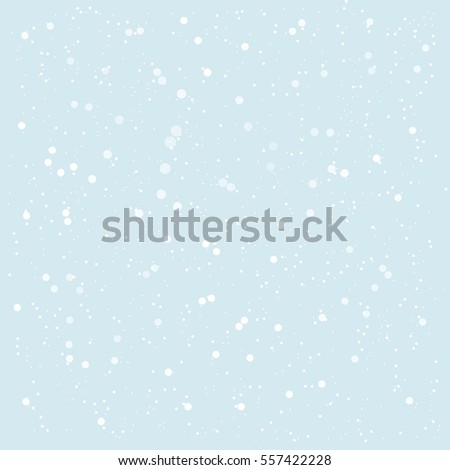 Falling snow background. Vector illustration. Eps10.