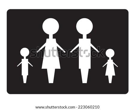 Family concept - stock vector