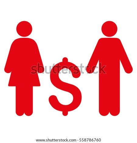 Family Dollar Vector Icon Flat Red Stock Vector 558786760 Shutterstock