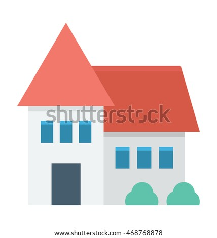 Family House Vector Icon