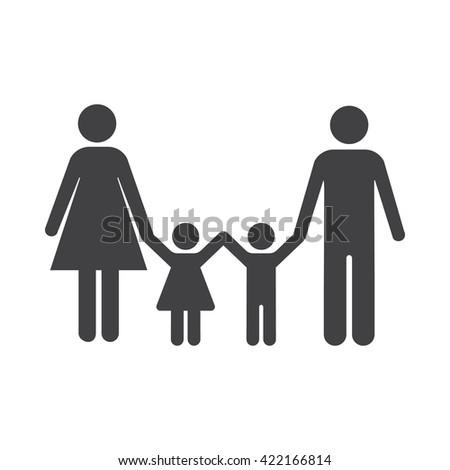 family Icon. family Icon Vector. family Icon Art. family Icon eps. family Icon Image. family Icon logo. family Icon Sign. family Icon Flat. family Icon design. family icon app. family icon UI - stock vector