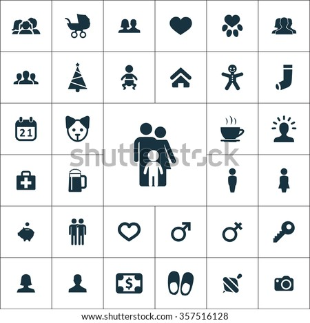 family Icons Vector set. family Icons Symbol set. family Icons Picture set. family Icon Image set. family Icons Shape set. family Icons Sign set icons universal set for web and mobile