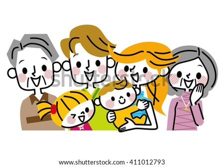 Family illustration.