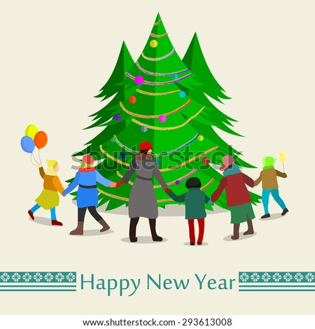 Dancing Christmas Tree Stock Images, Royalty-Free Images & Vectors ...