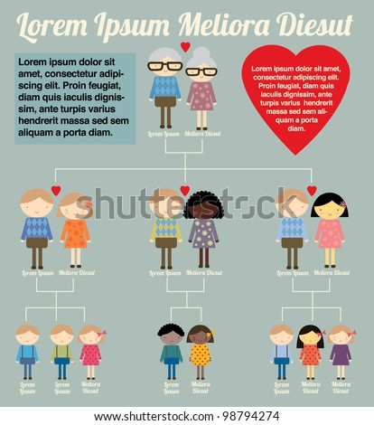 Family Tree Stock Photos, Illustrations, and Vector Art