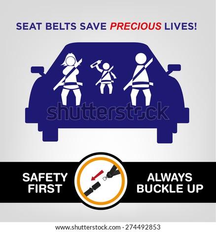 a description of a legislative mandate to wear seat belts
