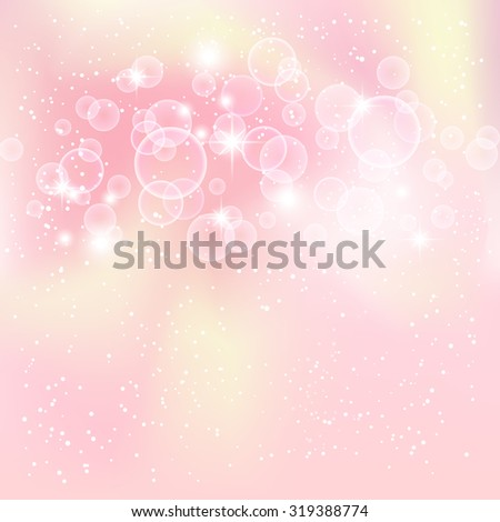 Fantastic  background with many brightness. Vector illustration.