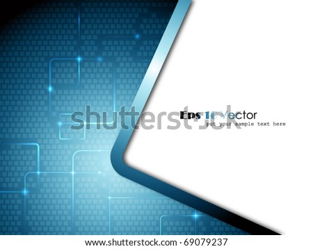 Fantasy abstract background - stock vector