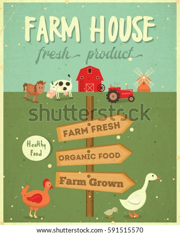Food Posters Set Advertise Ice Cream Stock Vector ...