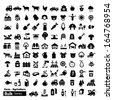 Farm Icons - Bulk Series - stock