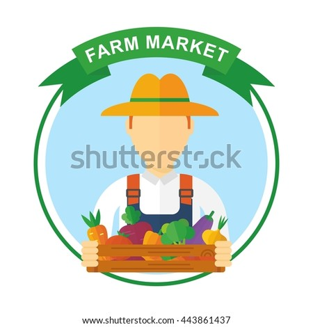 Farmer Illustration Stock Images Royalty Free Images