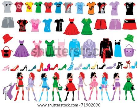Fashion - stock vector
