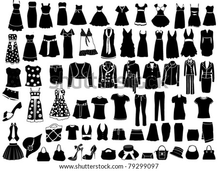 Fashion - stock vector