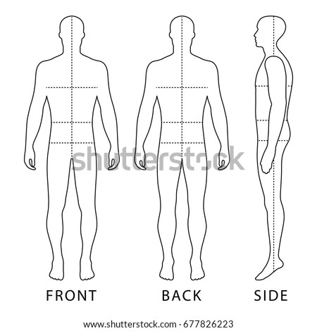textiles body templates - fashion figure template stock images royalty free images