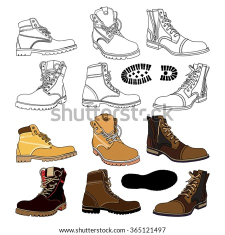 Army Boot Vector Stock Photos, Royalty-Free Images & Vectors ...