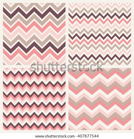 fashion herringbone pattern collection vector background - stock vector