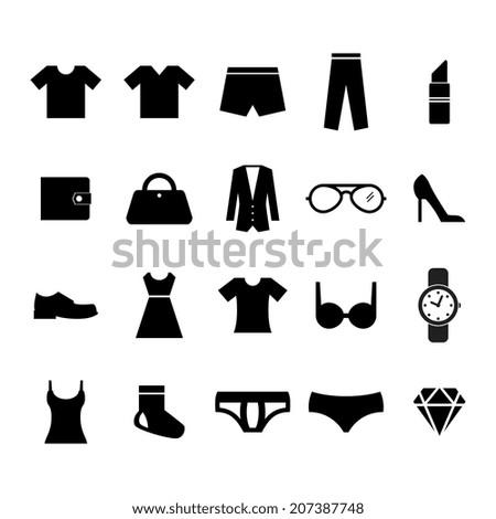 Fashion Icon - stock vector