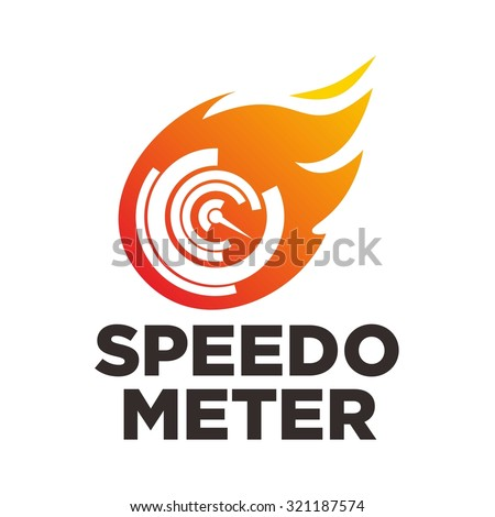 Fast and Speed logo template vector - stock vector