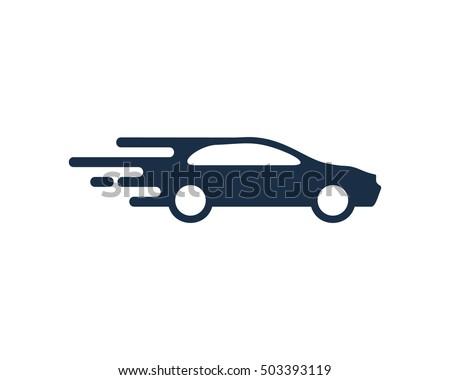 Fast Car Automotive Logo Design Template Stock Vector 503393119
