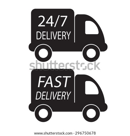 fast delivery and twenty-four seven in truck