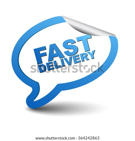 fast delivery, blue vector fast delivery, blue bubble fast delivery, sticker bubble fast delivery, element fast delivery, sign fast delivery, design fast delivery, illustration fast delivery