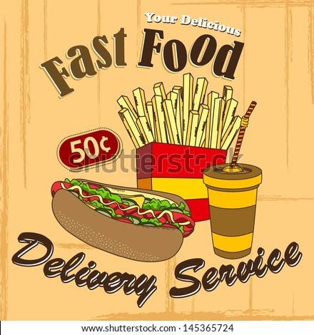 fast food delivery commercial