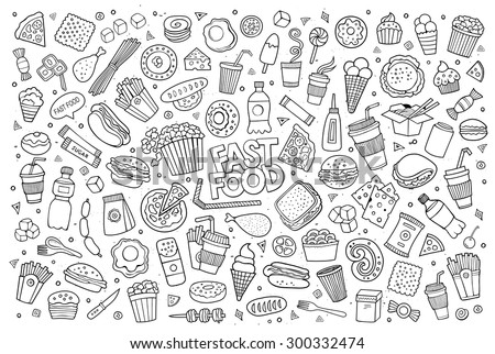 Food Doodles Stock Images Royalty Free Images Amp Vectors