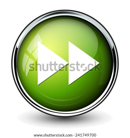 Forward Button Image Fast Forward Button