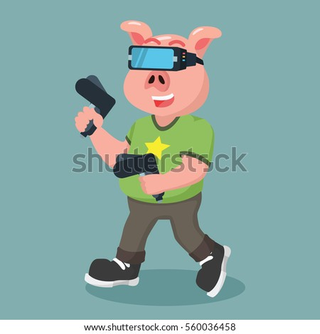 Pigs Playing Stock Photos, Royalty-Free Images & Vectors ...