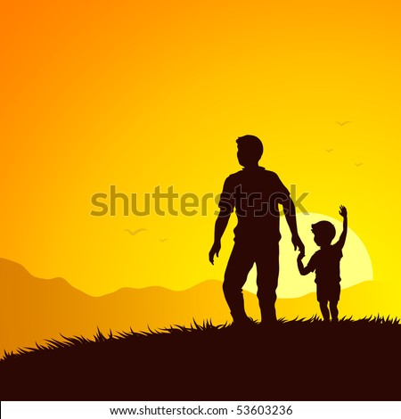 father and son summer adventure