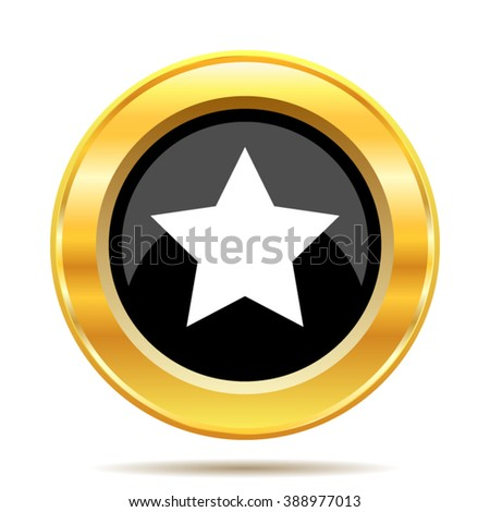 Favorite  icon. Internet button on white background. EPS10 vector.