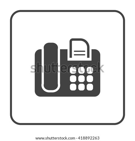 Fax Icon Stock Images, Royalty-Free Images & Vectors | Shutterstock