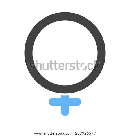 Female Female Sign Woman Icon Vector Stock Vector 2018 289925579