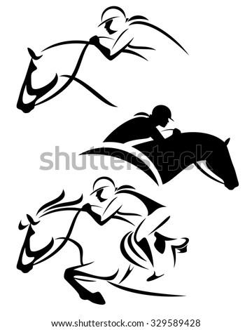 Horse Jockey St...