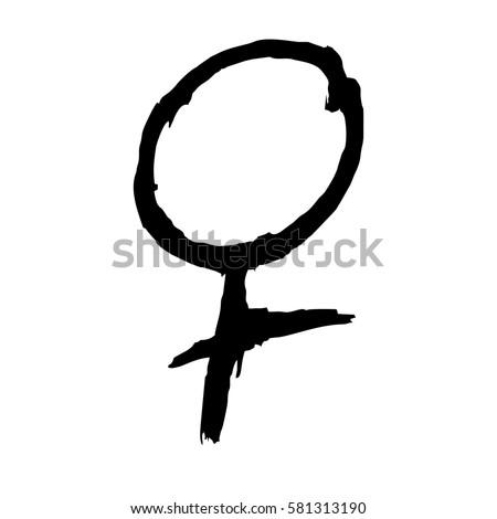 Female symbol. Female Symbol Stock Images  Royalty Free Images   Vectors
