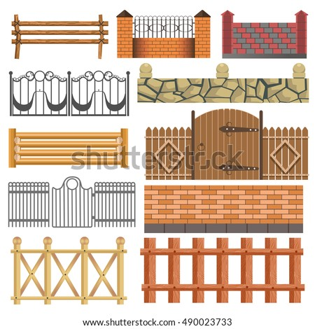 Wooden Gate Stock Images Royalty Free Images Vectors