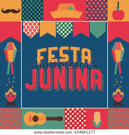 Festa Junina, party in June traditional in Brazil.