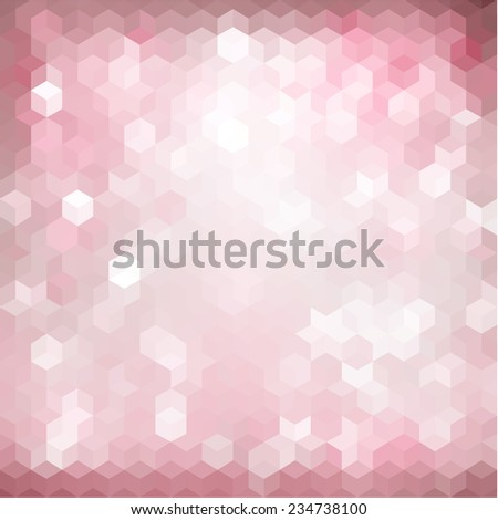 Festive abstract geometric background - stock vector