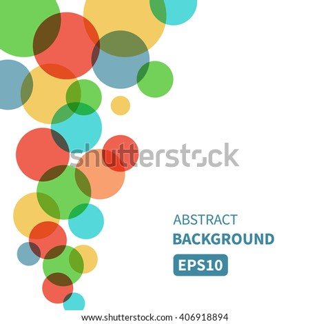 Festive background with colorful bubbles flowing up. Vector illustration for your design EPS10 Perfect for invitation cards, flyers, posters, brochures, greetings cards, banners etc. - stock vector