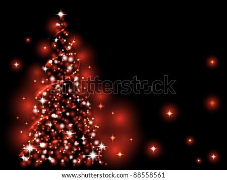 festive light red xmas tree - Red Christmas Tree Lights