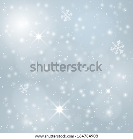festive winter blurred background. vector illustration. eps10 - stock vector