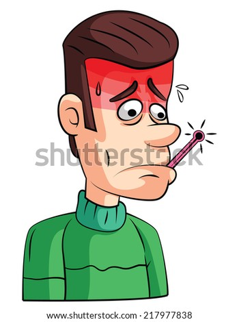 Fever Check - stock vector
