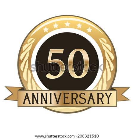 Fifty Year Anniversary Seal