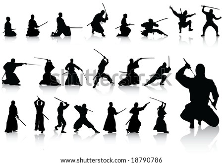 fighter collection - stock vector